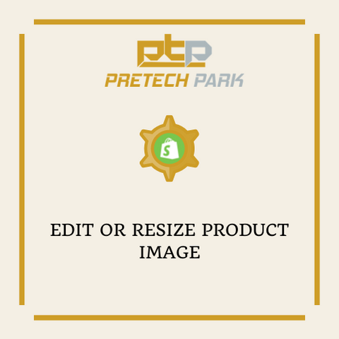 EDIT OR RESIZE PRODUCT IMAGE