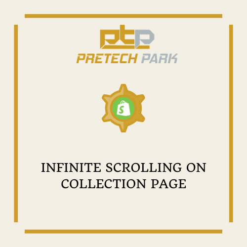 INFINITE SCROLLING ON COLLECTION PAGE