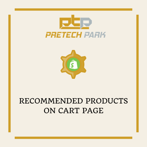 RECOMMENDED PRODUCTS ON CART PAGE
