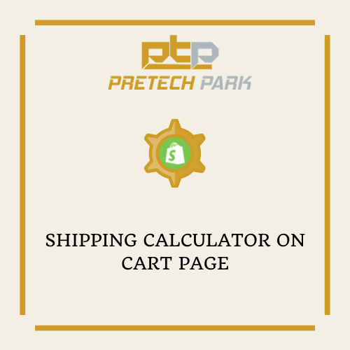 SHIPPING CALCULATOR ON CART PAGE