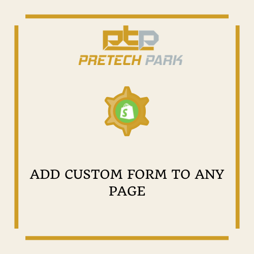 ADD CUSTOM FORM TO ANY PAGE
