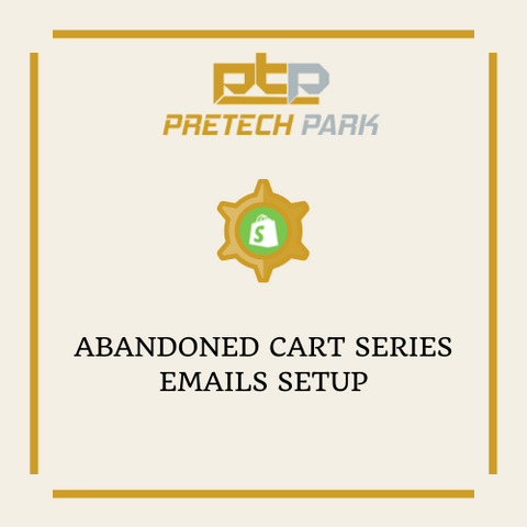 ABANDONED CART SERIES EMAILS SETUP