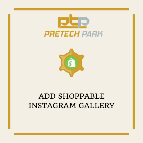 ADD SHOPPABLE INSTAGRAM GALLERY