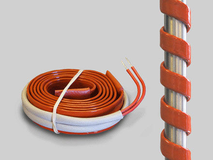 Silicone Extruded Industrial Heating Tapes