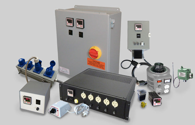 Temperature Controllers, Control Panels & Accessories