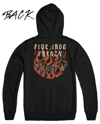 See the Flames Begin to Crawl Hoodie