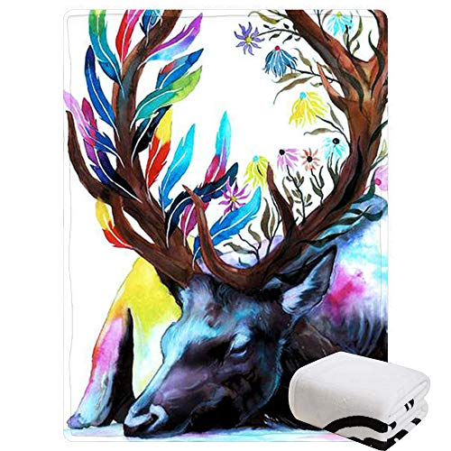 Morebee Dragon Fleece Throw Blanket Custom Design Soft Lightweight Blanket for Bed Couch Sofa Travelling Camping(45
