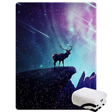 "Load image into Gallery viewer, Morebee Dragon Fleece Throw Blanket Custom Design Soft Lightweight Blanket for Bed Couch Sofa Travelling Camping(45""x 60"")"