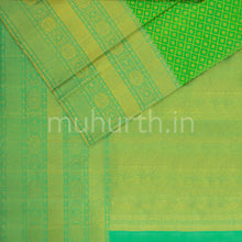 Load image into Gallery viewer, Kanjivaram Sage Silk Saree