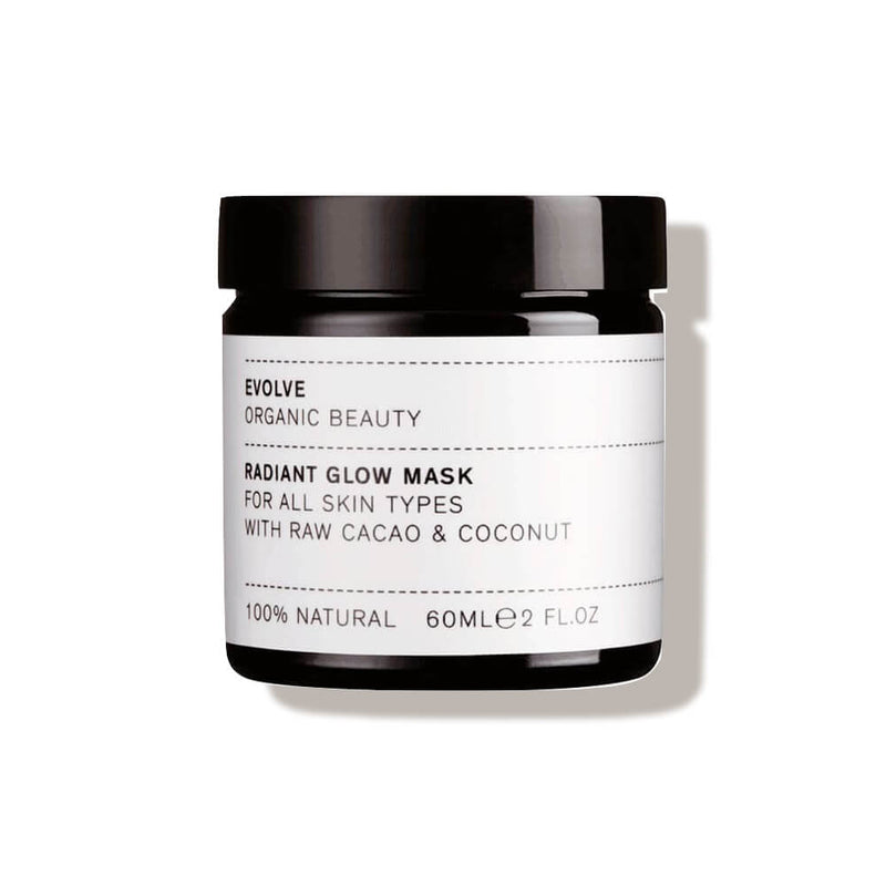 Masque éclat Cacao Evolve Beauty