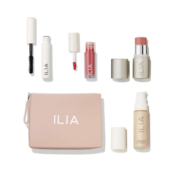 Trousse de maquillage Clean make-up Ilia