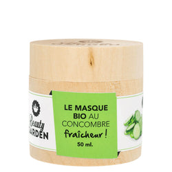 Masque au concombre Beauty Garden