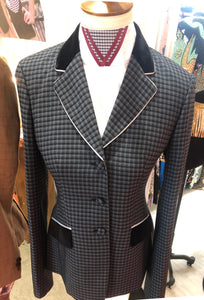 Gray, Black & Blue Small Check Hunt Coat (Various Sizes)
