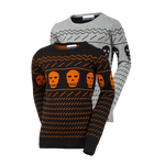 Load image into Gallery viewer, Not Too Scary-Black Sweater