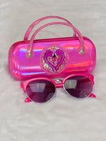 Load image into Gallery viewer, Pink Sunglasses &  Case