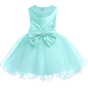 Pearly Princess Dress|Teal