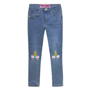 I love Unicorn Jeans-Indigo