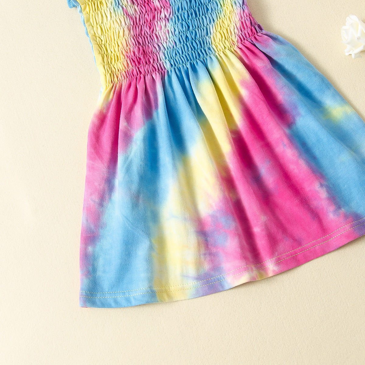 Tie dye Ruffle Dress