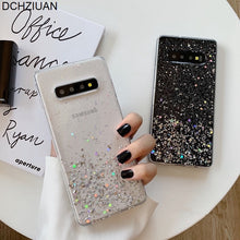 Laden Sie das Bild in den Galerie-Viewer, Samsung Galaxy Glitzer Case II S10 PLUS, S10, S9 PLUS, S9, S8 PLUS, S8, Note10 PLUS, Note 10/9/8
