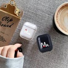 Laden Sie das Bild in den Galerie-Viewer, AirPods 1/2 Case Mr&Mrs Design