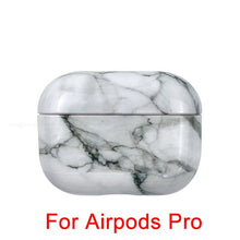 Laden Sie das Bild in den Galerie-Viewer, AIRPODS PRO Case Marmor Optik Design