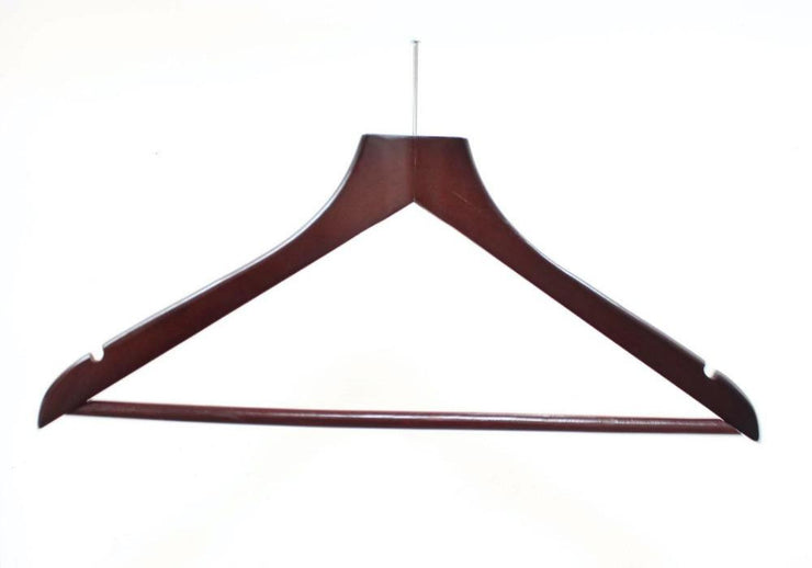 Anti Theft Hanger Mahogany