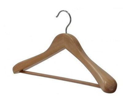 Pine Suit Hanger With Bar
