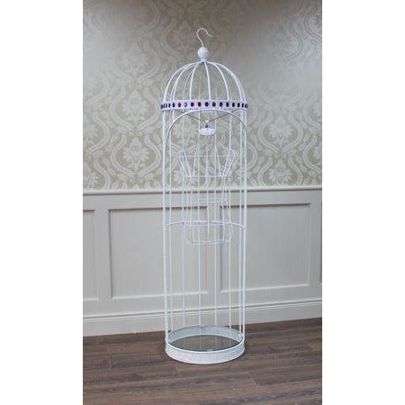 Bird Cage Style Display Stand With Bust
