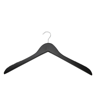 Black Wooden Top Hanger