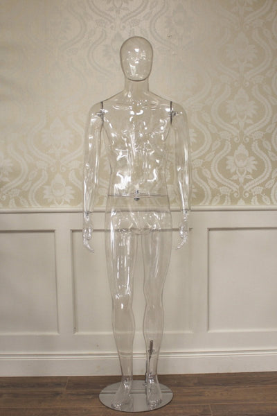 Clear Male Mannequin