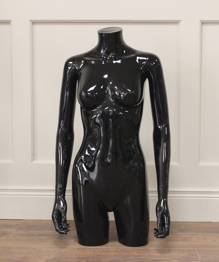 Black Gloss Female Torso