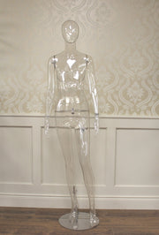 Clear Female Mannequin