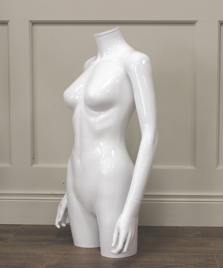 White Gloss Female Torso