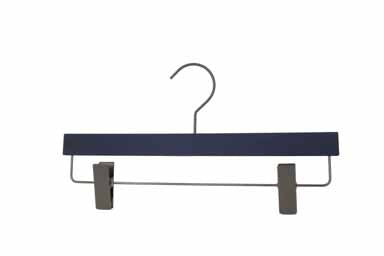 Silk Touch Navy Clip Hanger