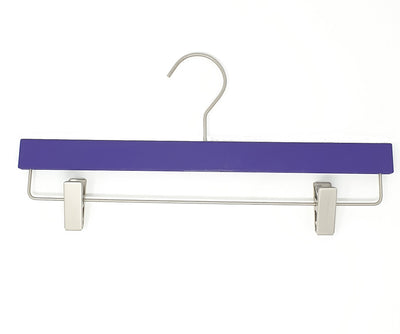 Silk Touch Purple Clip Hanger