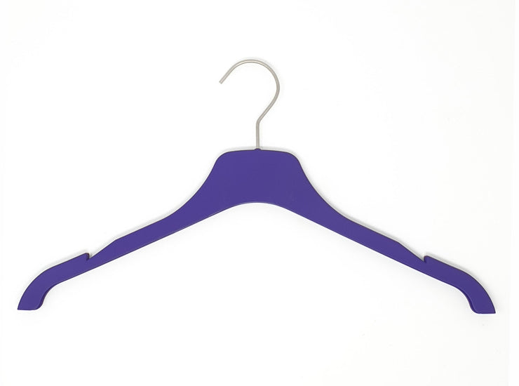 Purple Silk Touch Tops Hanger