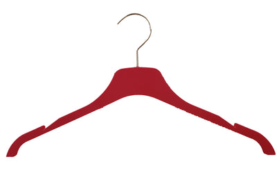 Silk Touch Red Tops Hanger