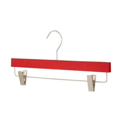 Silk Touch Red Clip Hanger