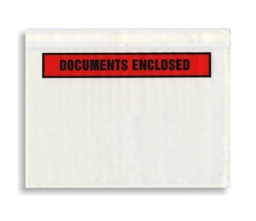 Document Enclosed Envelopes