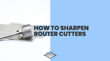 How to Sharpen Router Cutters Using James Barry Credit Card Stones