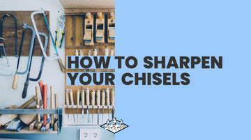 How to Sharpen a Chisel Using a James Barry Sharpening Stone