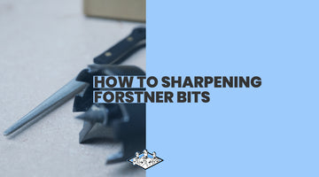 How to Sharpen a Forstner Bit Using James Barry Sharpening Technology