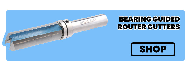 bearing guided router cutters