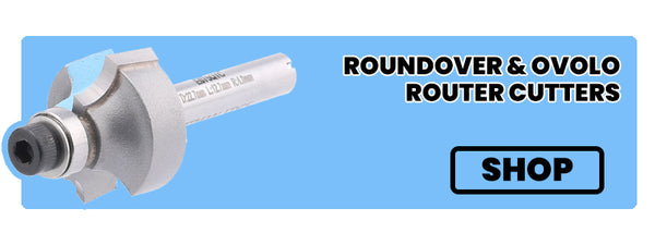 roundover and ovolo router cutters