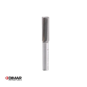 Straight Two Flute Cutter - 9.5mm Diameter x 25mm Depth of Cut - DIMAR