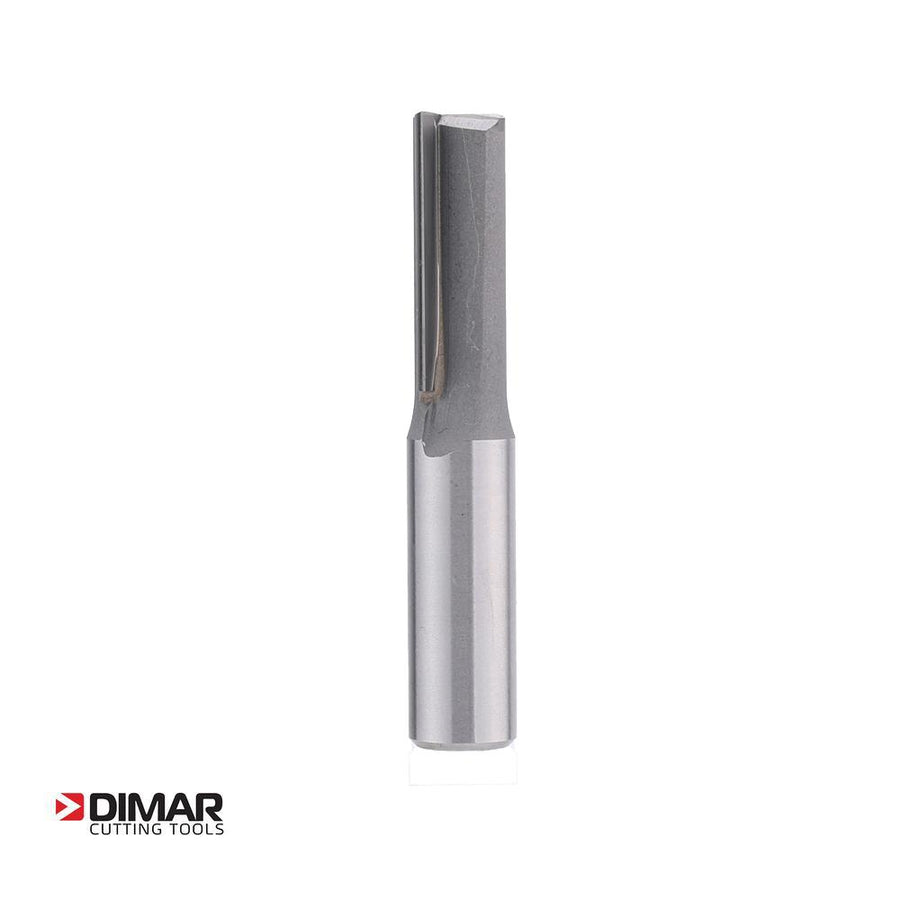 "Straight Two Flute Cutter - 12.7mm Diameter x 32mm Depth of Cut - 1/2"" Shank - DIMAR"