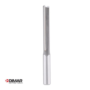 "Straight Two Flute Cutter - 12.7mm Diameter x 75mm Depth of Cut - 1/2"" Shank - DIMAR"