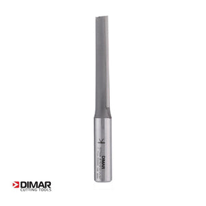 "Straight Two Flute Cutter - 12mm Diameter x 63mm Depth of Cut - 1/2"" Shank - DIMAR"