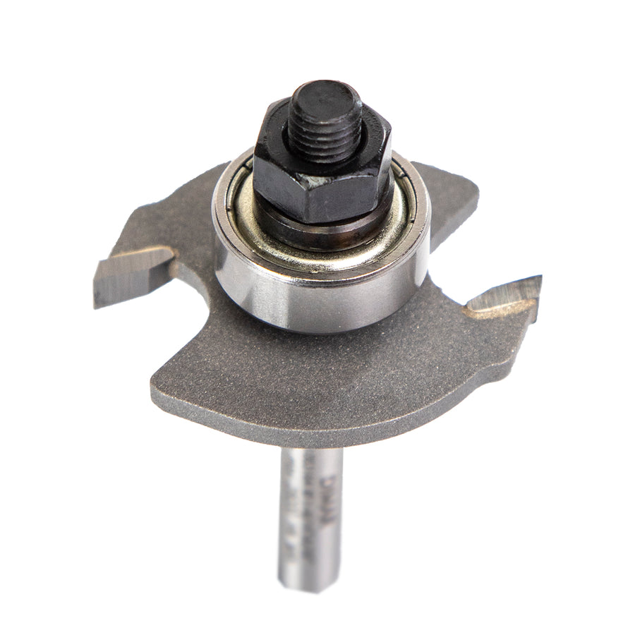 "1/4"" shank biscuit groove cutter for worktops, cuts for size '0' '10' & '20' biscuits"
