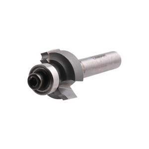 "Bearing Guided Ovolo Round Over Cutter - 16.7mm Diameter x 2mm Radius x 7.7mm Depth - 1/4"" Shank - DIMAR"